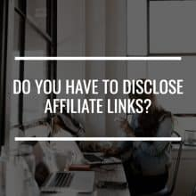 disclose affiliate links featured image