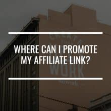 where can i promote affiliate link featured image