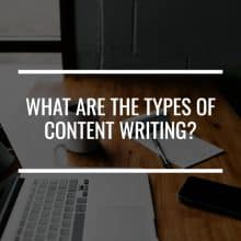 types of content marketing featured image